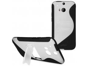 Pouzdro se stojánkem HTC One M8